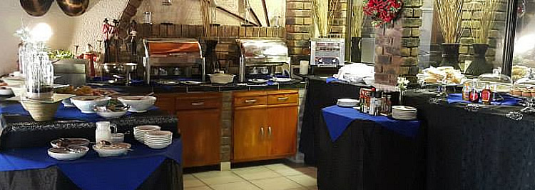 Catering services for conferencing