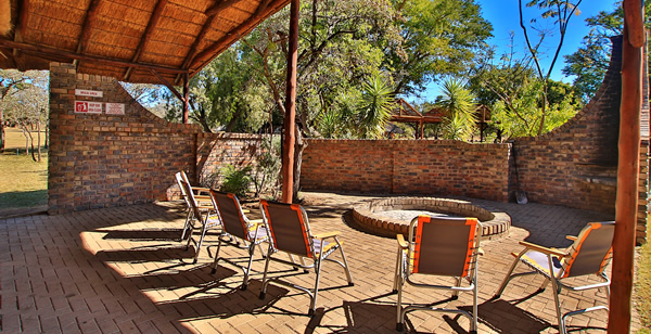 Group Accommodation Braai Area